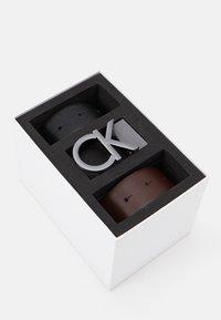 Calvin Klein - BUCKLE SET - Belt - black - 3