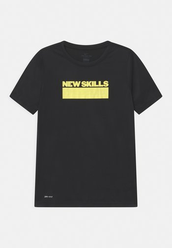 GLOW  - Print T-shirt - black