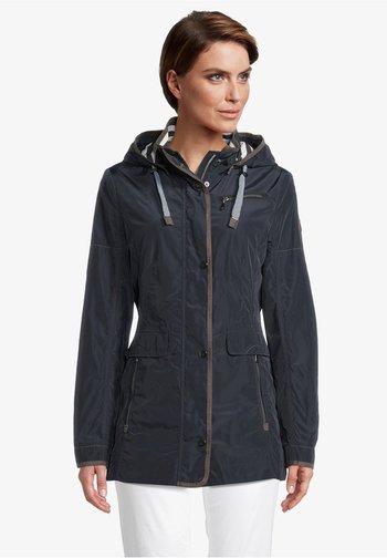 MIT ABNEHMBARER KAPUZE - Summer jacket - dunkelblau