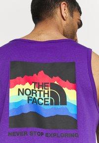 The North Face - RAINBOW TANK - Top - peak purple - 5