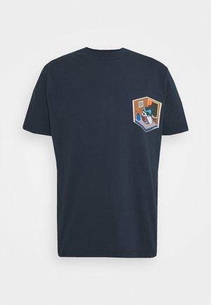 EARL EARTH TEE - T-shirt print - navy