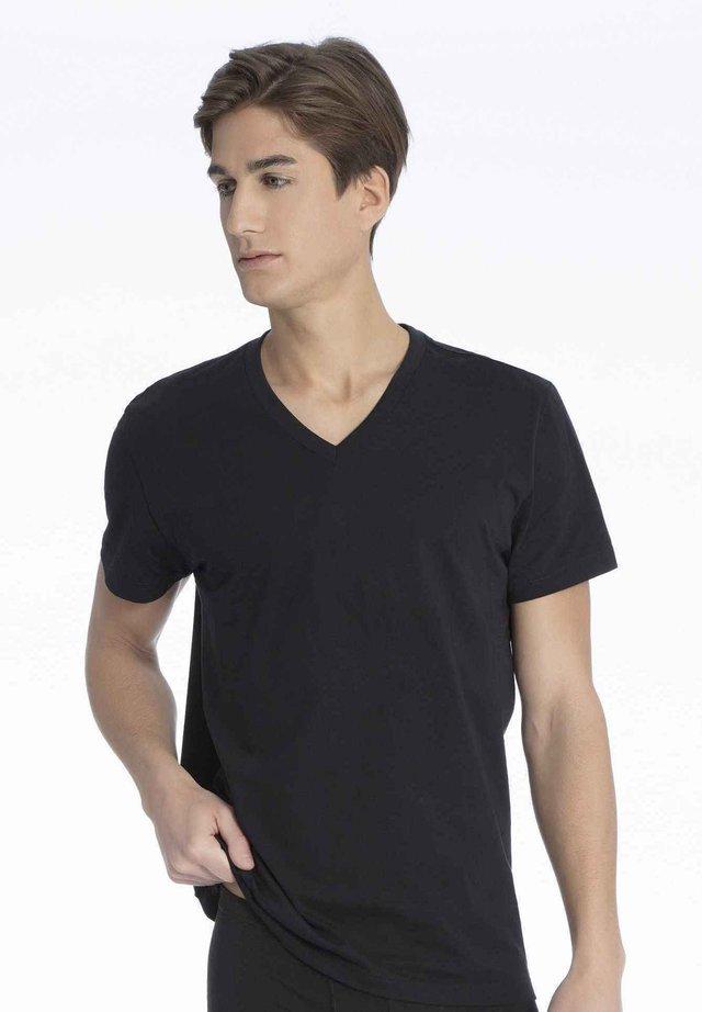 2ER-PACK - Undershirt - black