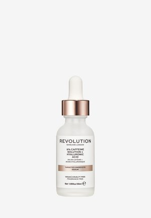 REVOLUTION SKINCARE TARGETED UNDER EYE SERUM 5% CAFFEINE SOLUTION + HYALURONIC ACID - Soin des yeux - -