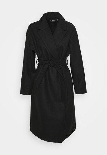 VMFORTUNE LONG JACKET - Classic coat - black