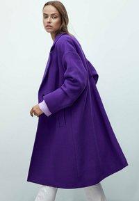 Massimo Dutti - Classic coat - dark purple - 2