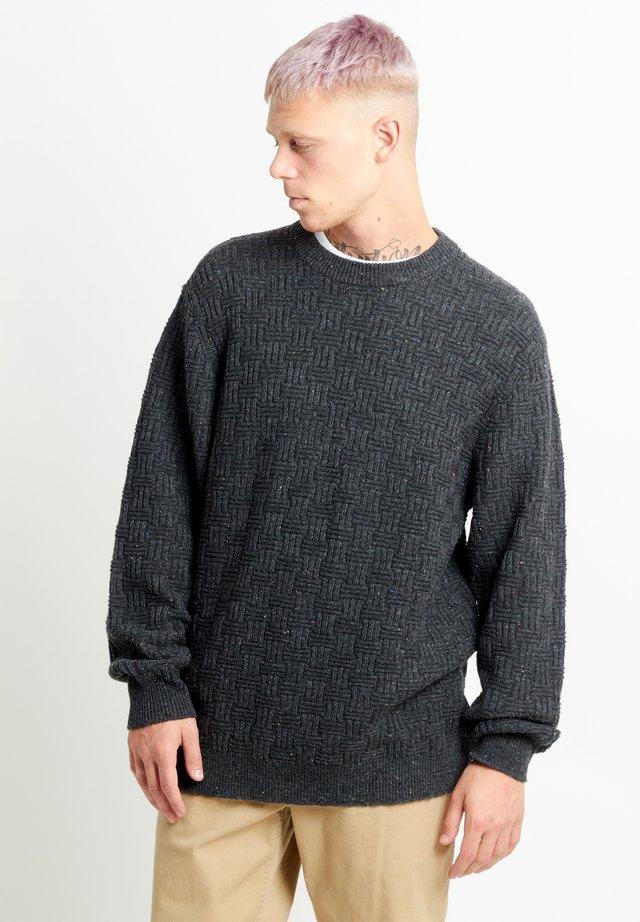 DAIRE - Trui - dark grey nep