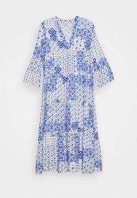 DRESS - Robe longue - white/blue