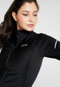 Gore Wear - THERMO ZIP  - Funkční triko - black - 3