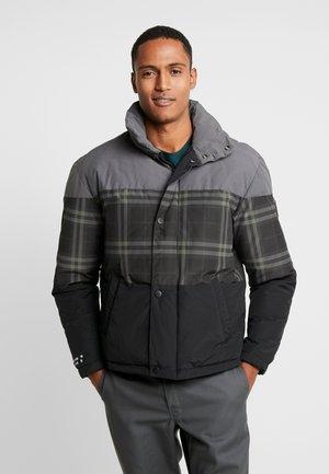 JCONOAH PUFFER - Winter jacket - asphalt/asphalt top/mid black
