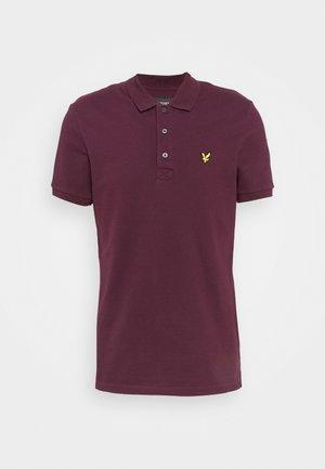 PLAIN  - Polo shirt - burgundy