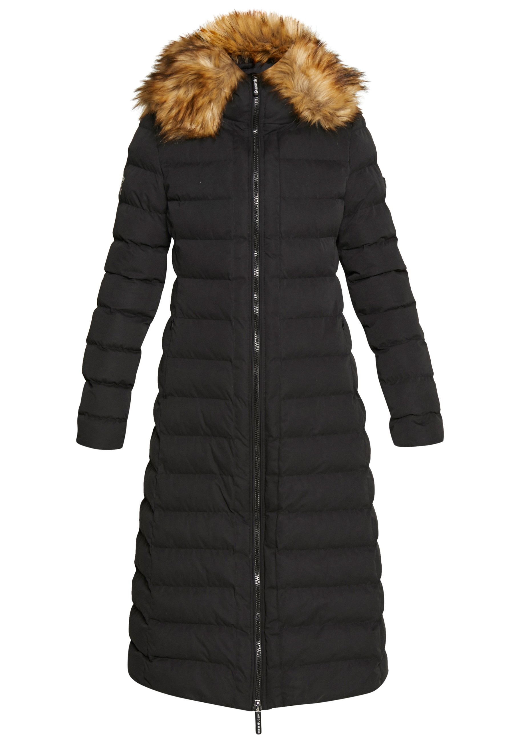 Superdry NEW ARCTIC LONG PUFFER Winterjas black Zalando.nl
