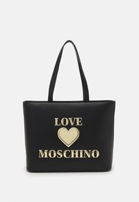 Love Moschino - HEART LOGO SHOPPER - Tote bag - nero - 1