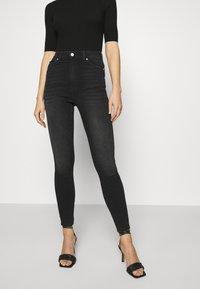 Dr.Denim - MOXY - Jeans Skinny Fit - black mist - 0