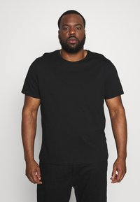 Topman - CLASSIC 3 PACK - Basic T-shirt - black - 1