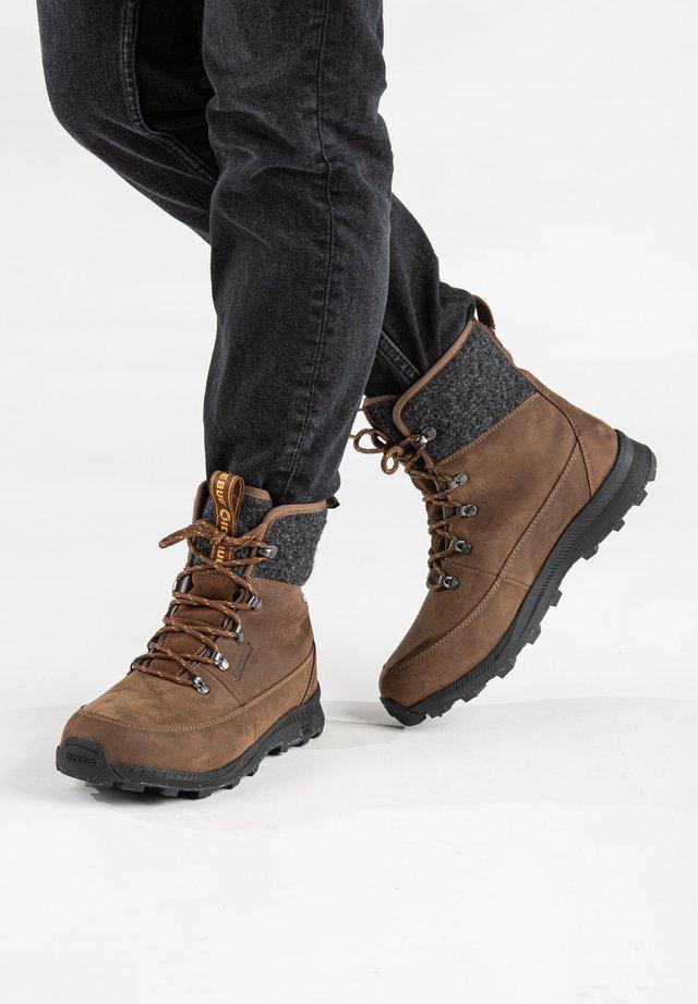 ADAK W MICHELIN WIC WOOLPOWER - Ankle boots - coffee/grey