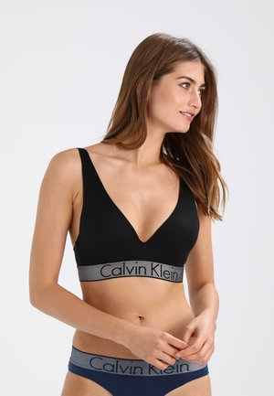 PLUNGE PUSH UP - Strapless BH - black