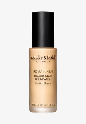 BIOMINERAL HEALTHY GLOW FOUNDATION 30ML - Foundation - 123 medium yellow