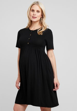 NURSING SMOCK DRESS - Jersey dress - black