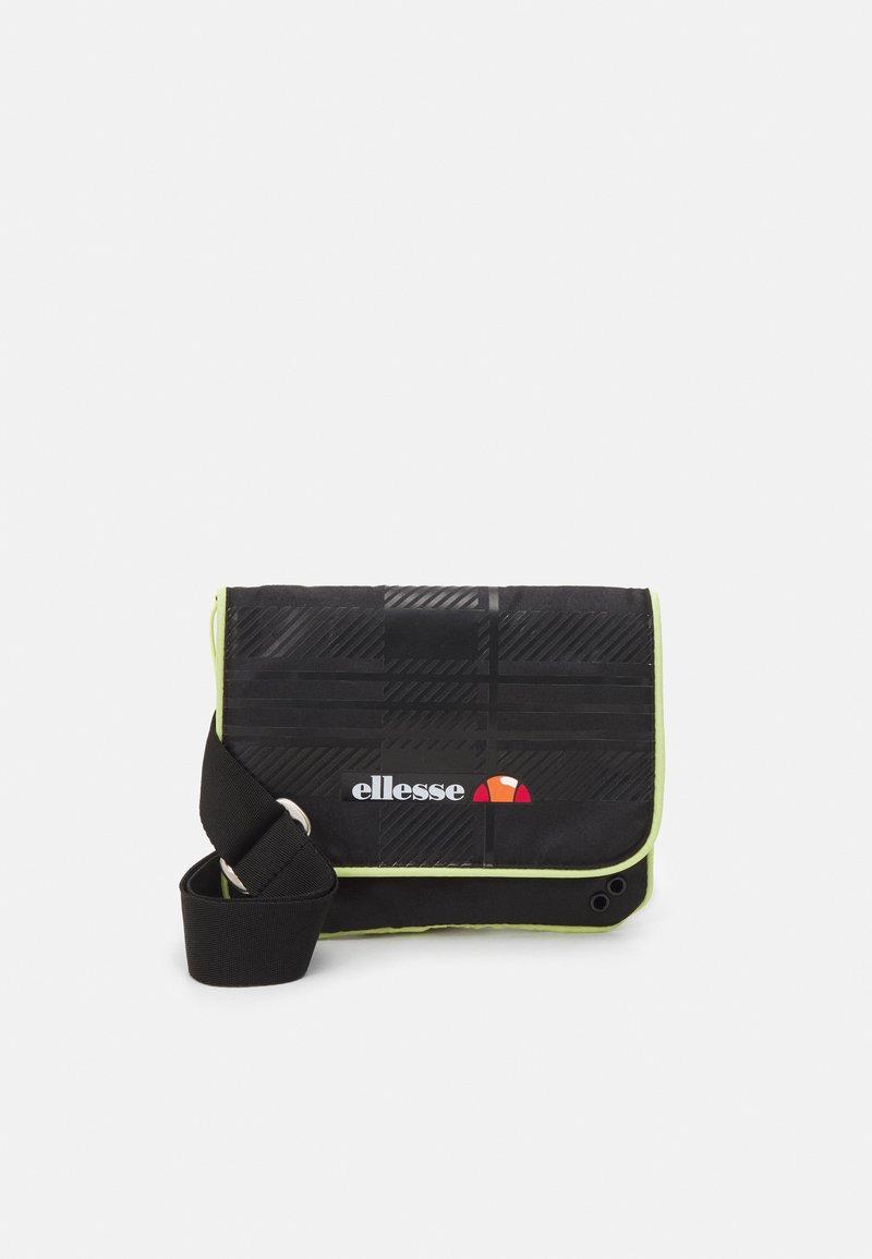 Ellesse - LORINO SATCHEL BAG UNISEX - Across body bag - black