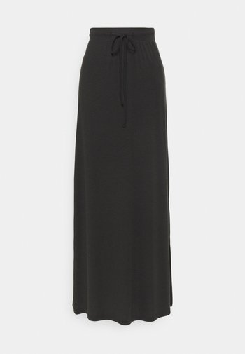VMAVA ANCLE SKIRT - Maxi skirt - black