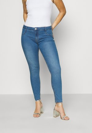 MID RISE - Jeans Skinny Fit - bells blue