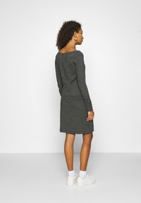 Ragwear - PENELOPE - Jerseykjole - mottled dark grey - 2