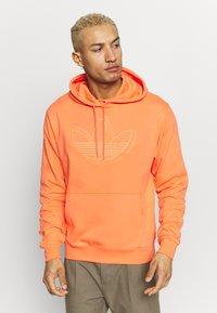 adidas Originals - SPORT COLLECTION HODDIE SWEAT - Huppari - coral - 0