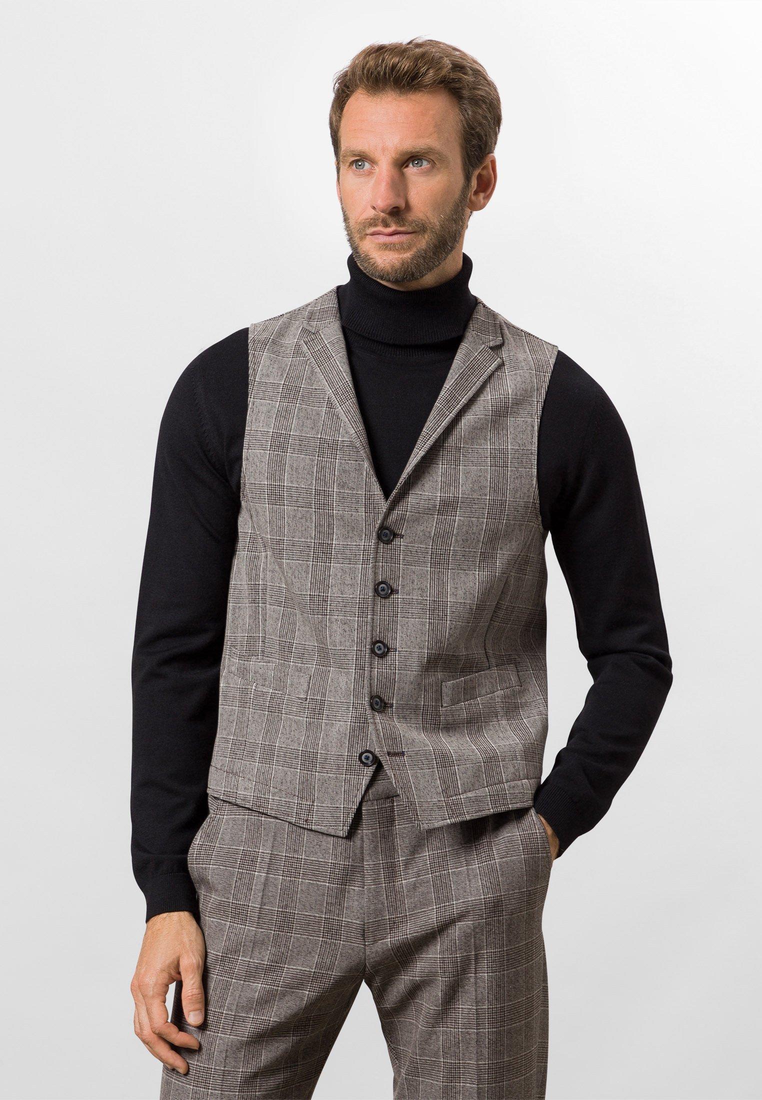 Homme FUTUREFLEX, KARIERT GIB - Gilet de costume