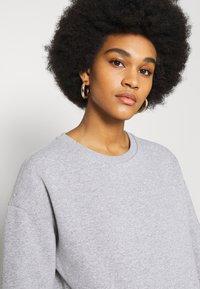 NU-IN - BASIC CREW NECK  - Sweatshirt - grey marl - 3