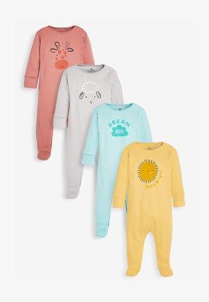 4 PACK - Pijama - grey