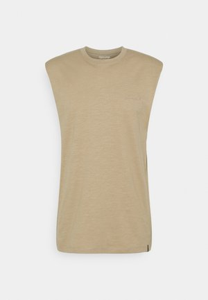 JORSANTO TEE SLEEVELESS - Débardeur - crockery