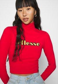 Ellesse - VORAN - Long sleeved top - red - 5