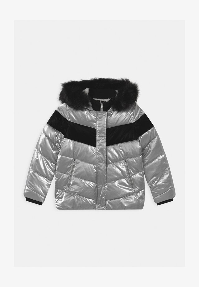 HOODED - Winterjacke - argent