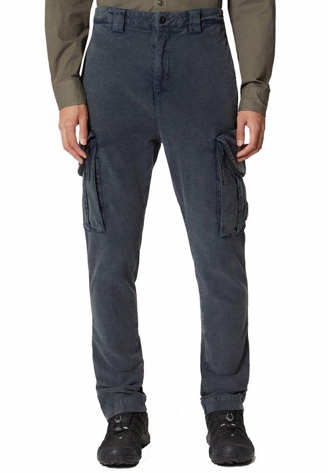 Pantaloni cargo - ebony