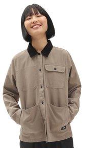 Vans - DRILL CHORE  - Summer jacket - military khaki - 0