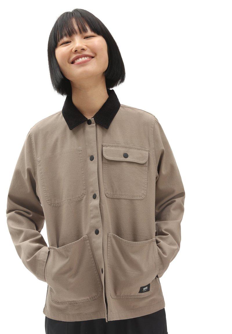 Vans - DRILL CHORE  - Summer jacket - military khaki