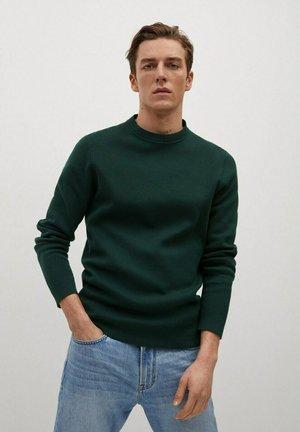 MAX - Stickad tröja - grün