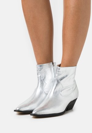 SEVENTEEN YEARS - Cowboy/biker ankle boot - silver