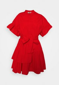 TWINSET - ABITO MORBIDO IN COMFORT - Shirt dress - corallo - 0