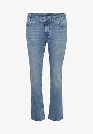 Straight leg jeans - light blue retro wash