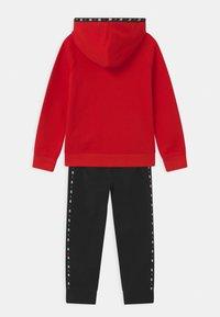 Nike Sportswear - SET UNISEX - Tracksuit - black - 1