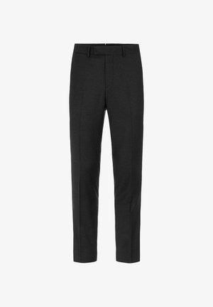 GRANT FLANNEL - Suit trousers - black