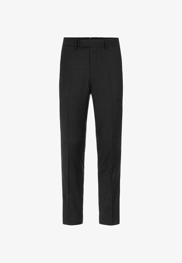 GRANT FLANNEL - Pantalon de costume - black