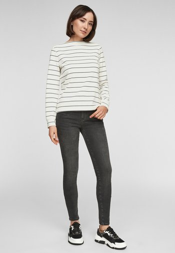 Long sleeved top - off-white stripes