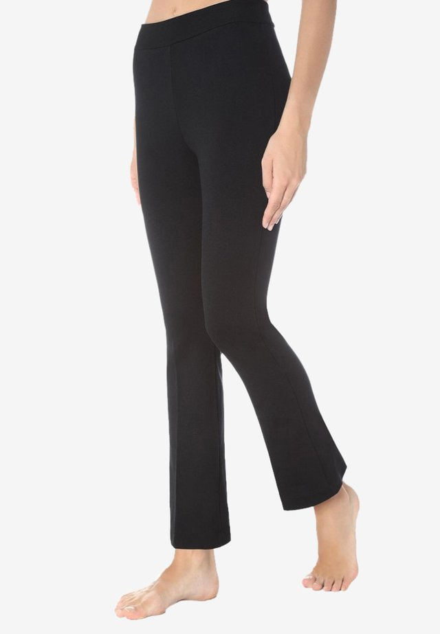 MINI FLARE LEGGINGS - Legging - black