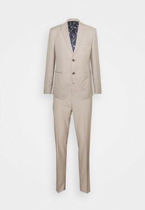 THE FASHION SUIT PEAK - Kostym - beige