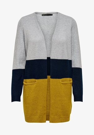 ONLQUEEN LONG CARDIGAN - Cardigan - yellow
