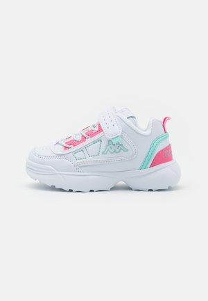 UNISEX - Sports shoes - white/mint