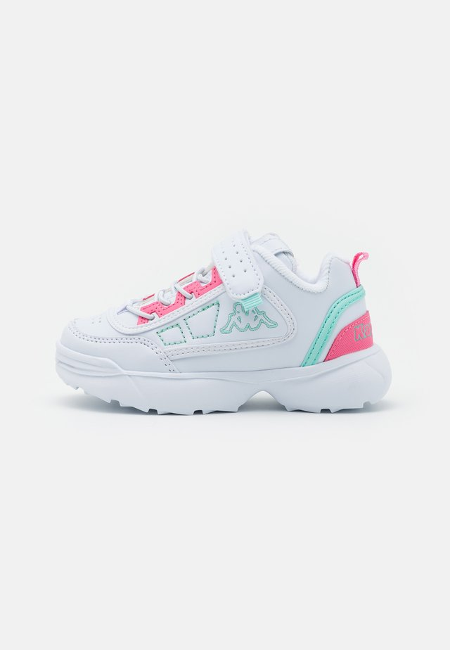 UNISEX - Sports shoes - white/mint