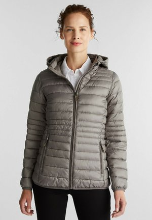 Winter jacket - light gunmetal